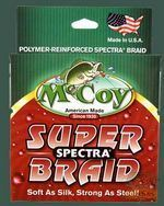 "Шнур McCoy Super Spectra Braid Зеленый ""Mean Green"" 10 Lb, 14 кг, 0,18-0,20 мм, 138 м (150yd)"